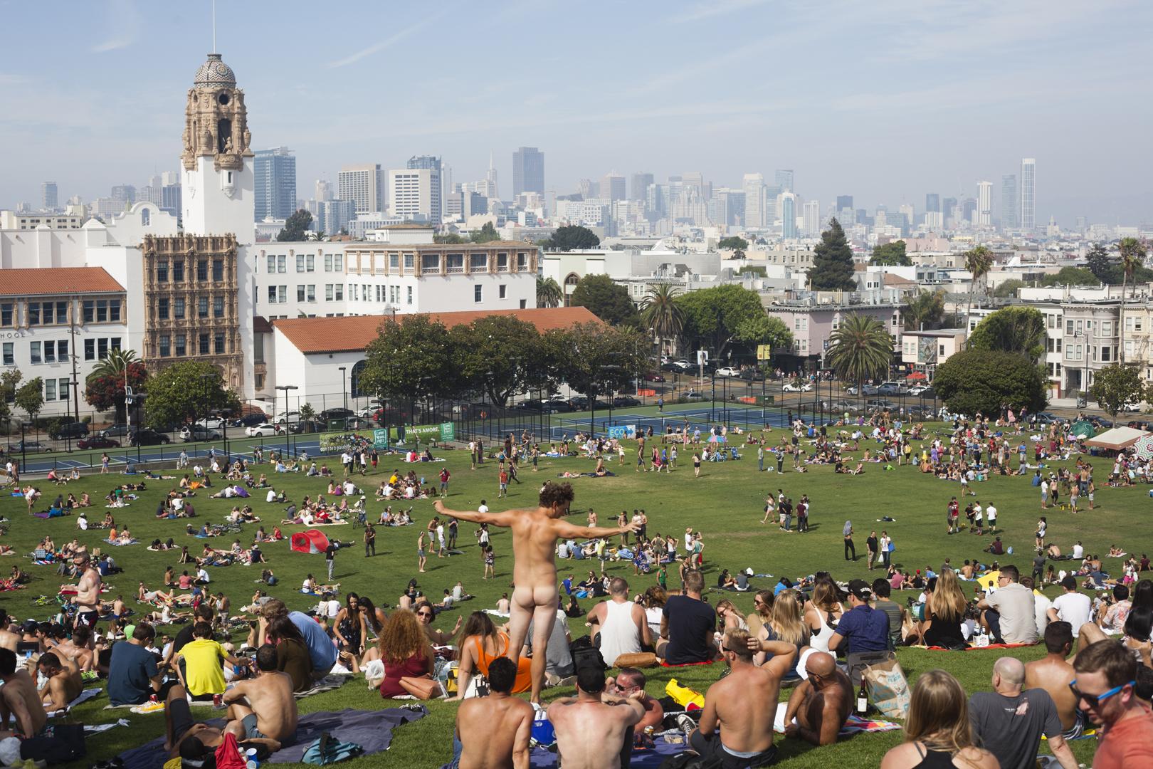 nude artist john defeo san fransisco calendar naked dolores park