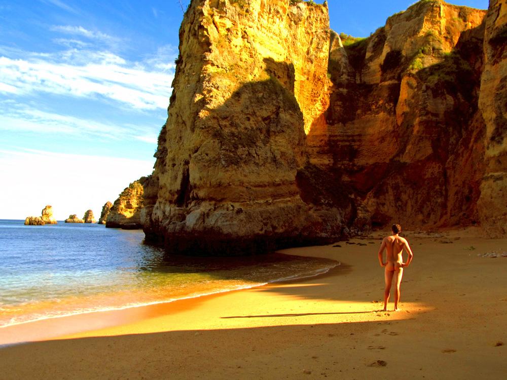 Dona Ana Beach, Portugal