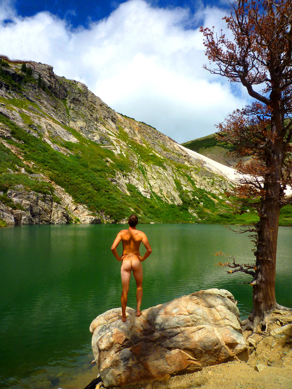 Saint St Marys Glacier Colorado Artist Art John DeFeo Nude Landscape Photo