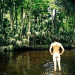 Florida Springs Wikeva Nude Naked Man Butt Wikeva Springs Florida Nature Landscape Artist John DeFeo