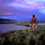 seminoe reservior Wyoming Art Artist John DeFeo Nude Landscape Photo