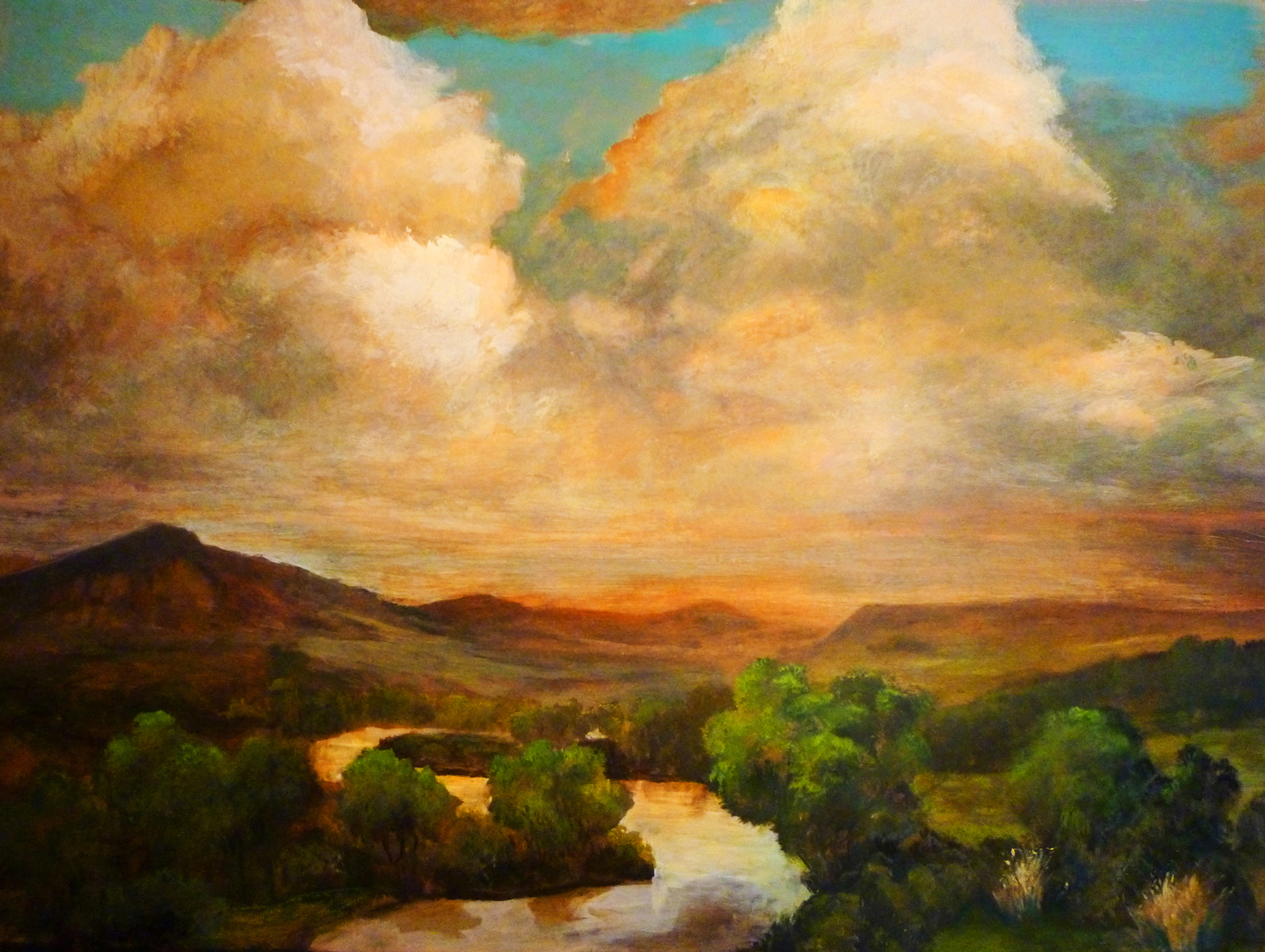 John DeFeo Gunnison River Sunset