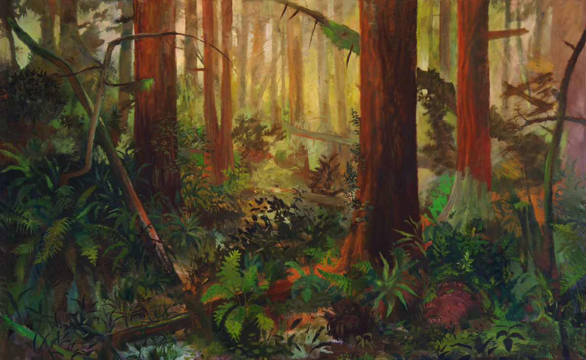 john defeo 2016 Muir Woods 72 x 108